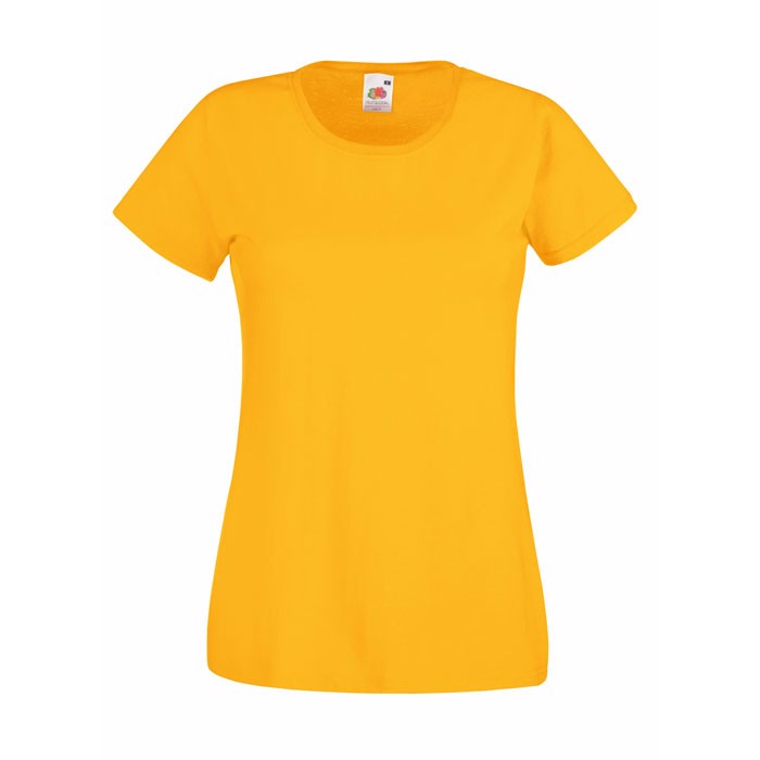 Lady-fit t-shirt 165 g/m² Lady-Fit Value Weight 61-372-0 - Sunflower / XS