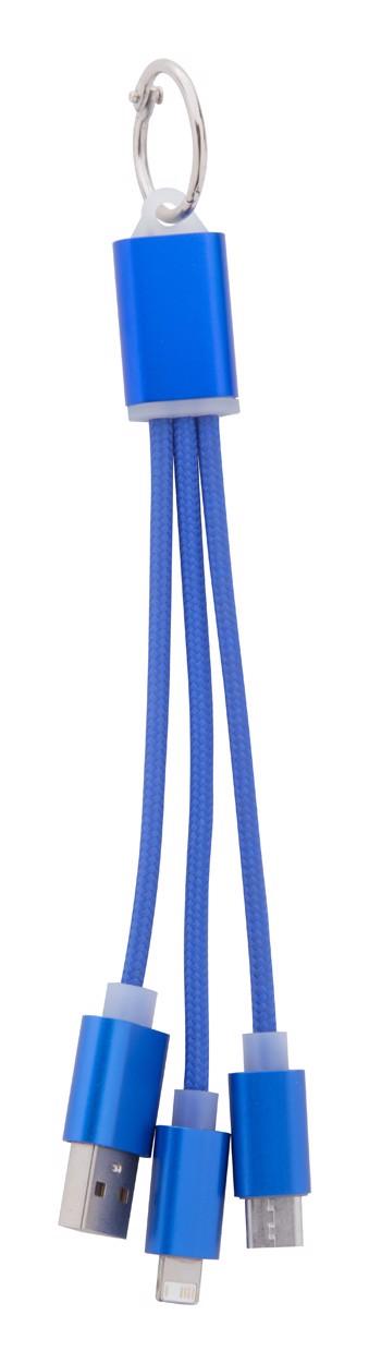 Usb Nabíjecí Kabel Scolt - Modrá