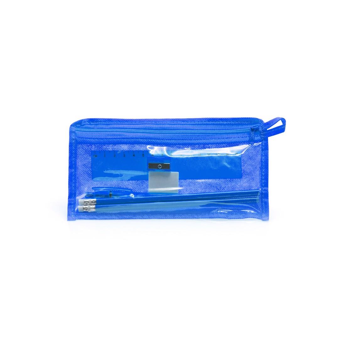 Pencil Case Set Baiku - Blue