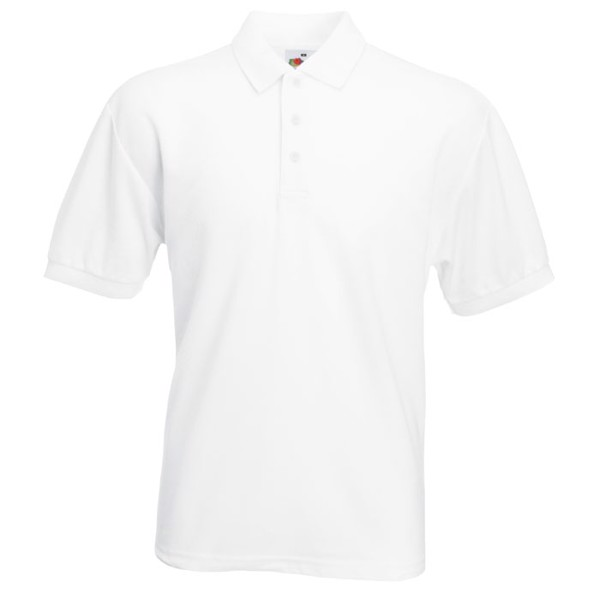 Men's Polo Shirt 170/180 g 65/35 Blended Polo 63-402-0 - White / XXL