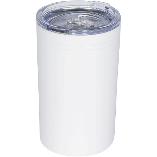 Pika 330 ml vacuum insulated tumbler and insulator - White