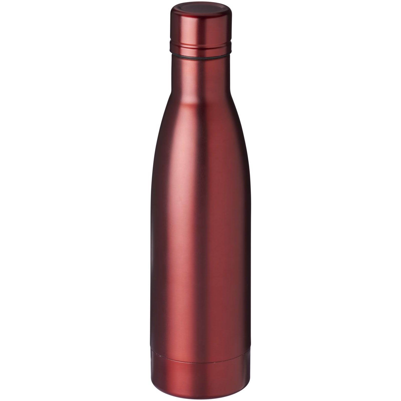 Vasa 500 ml copper vacuum insulated sport bottle - Red