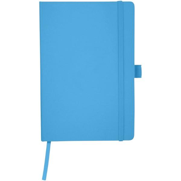 Kancelářský zápisník A5 s měkkou zadní obálkou Flex - Světle modrá
