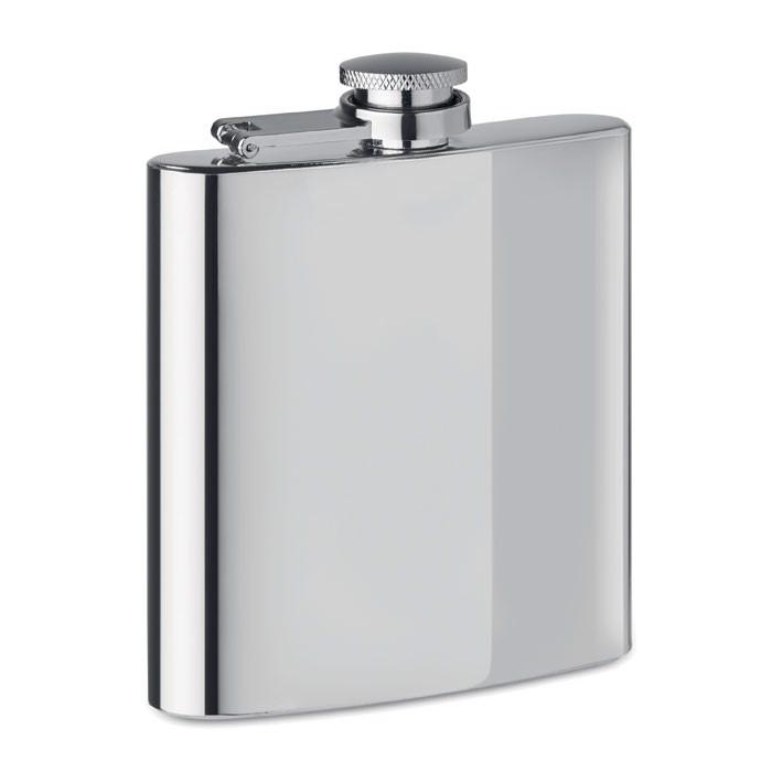 Slim hip flask 175ml Slimmy Flask + - Matt Silver