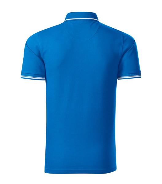 Polokošile pánská Malfinipremium Perfection plain - Snorkel Blue / 3XL