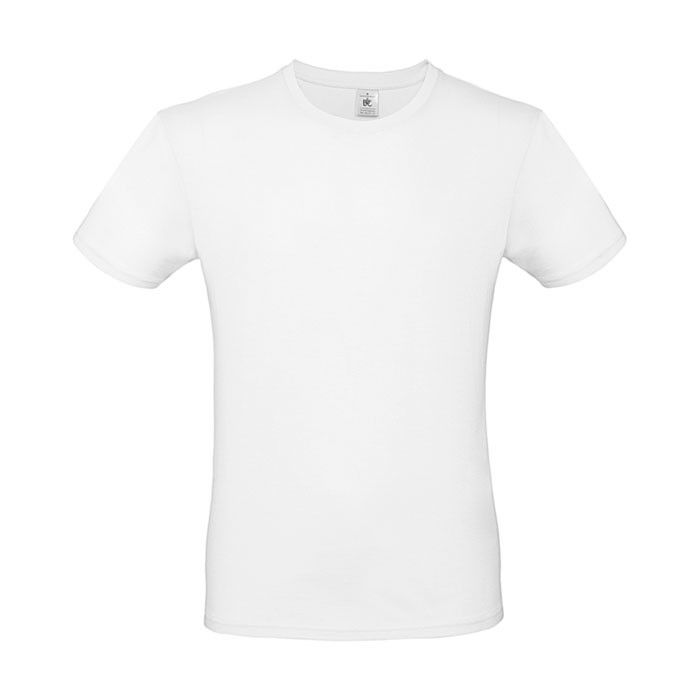 Tricou 145 g/m² #E150 T-Shirt - White / S
