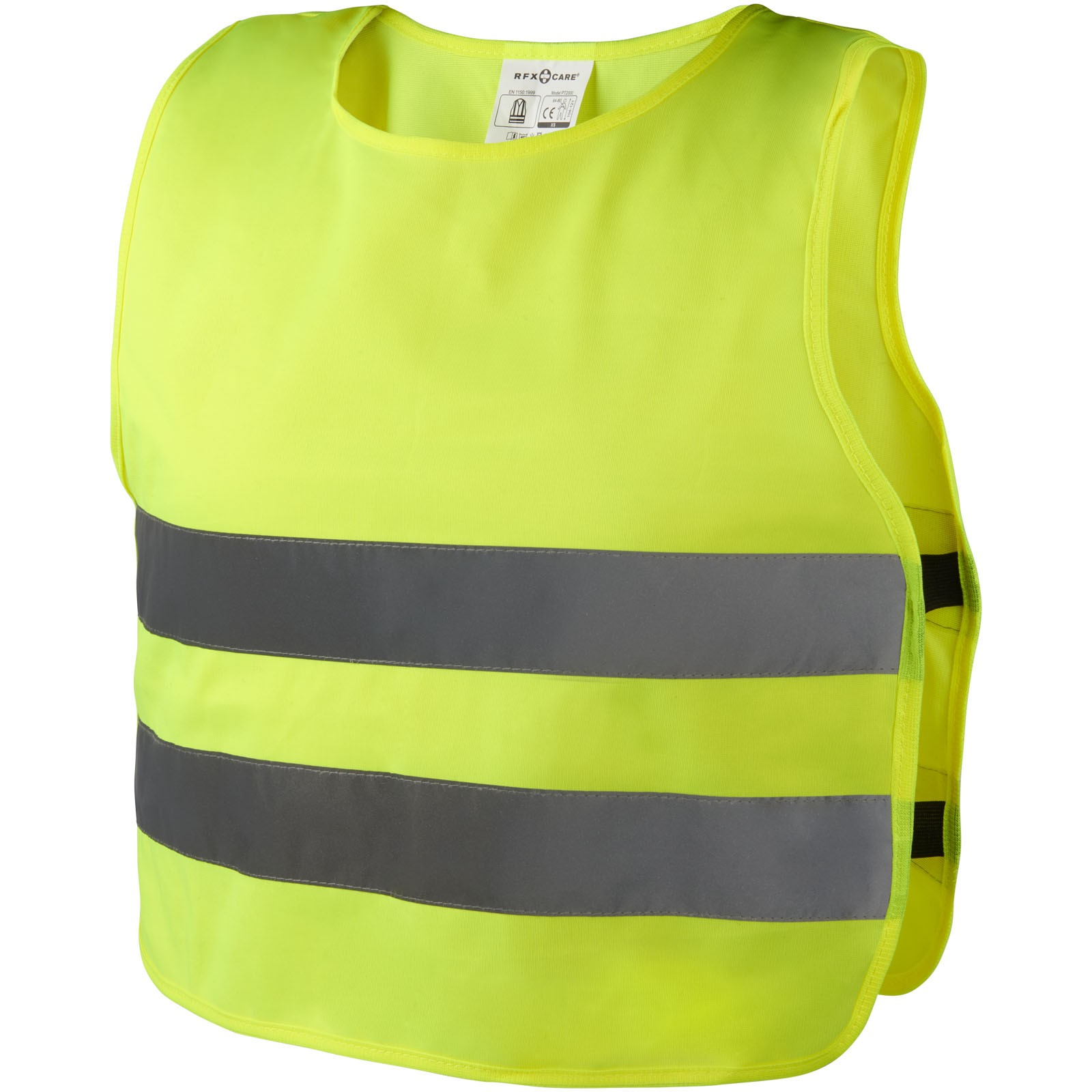 Reflective unisex safety vest - Yellow / XXS
