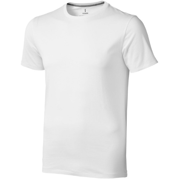 Nanaimo short sleeve men's t-shirt - White / 3XL
