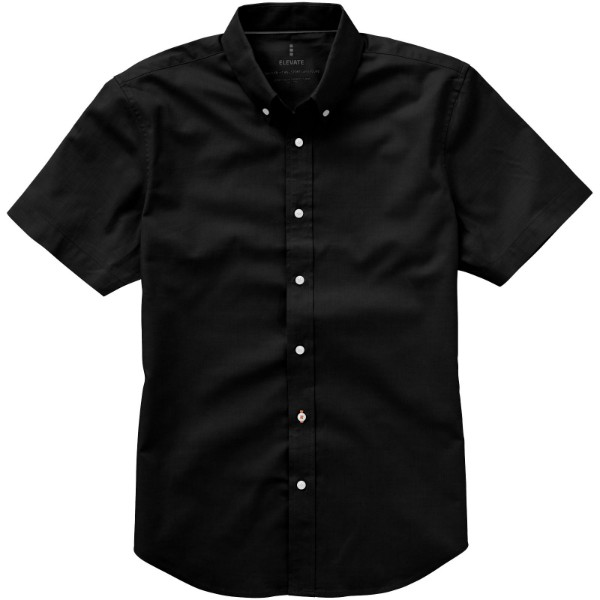 Manitoba short sleeve shirt - Solid Black / XL