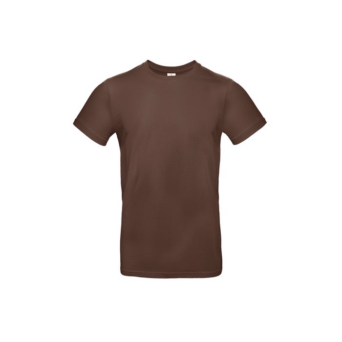 T-shirt male 185 g/m² #E190 T-Shirt - Chocolate / M