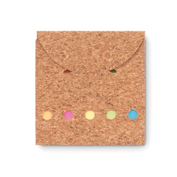 Zestaw karteczek memo Foldcork