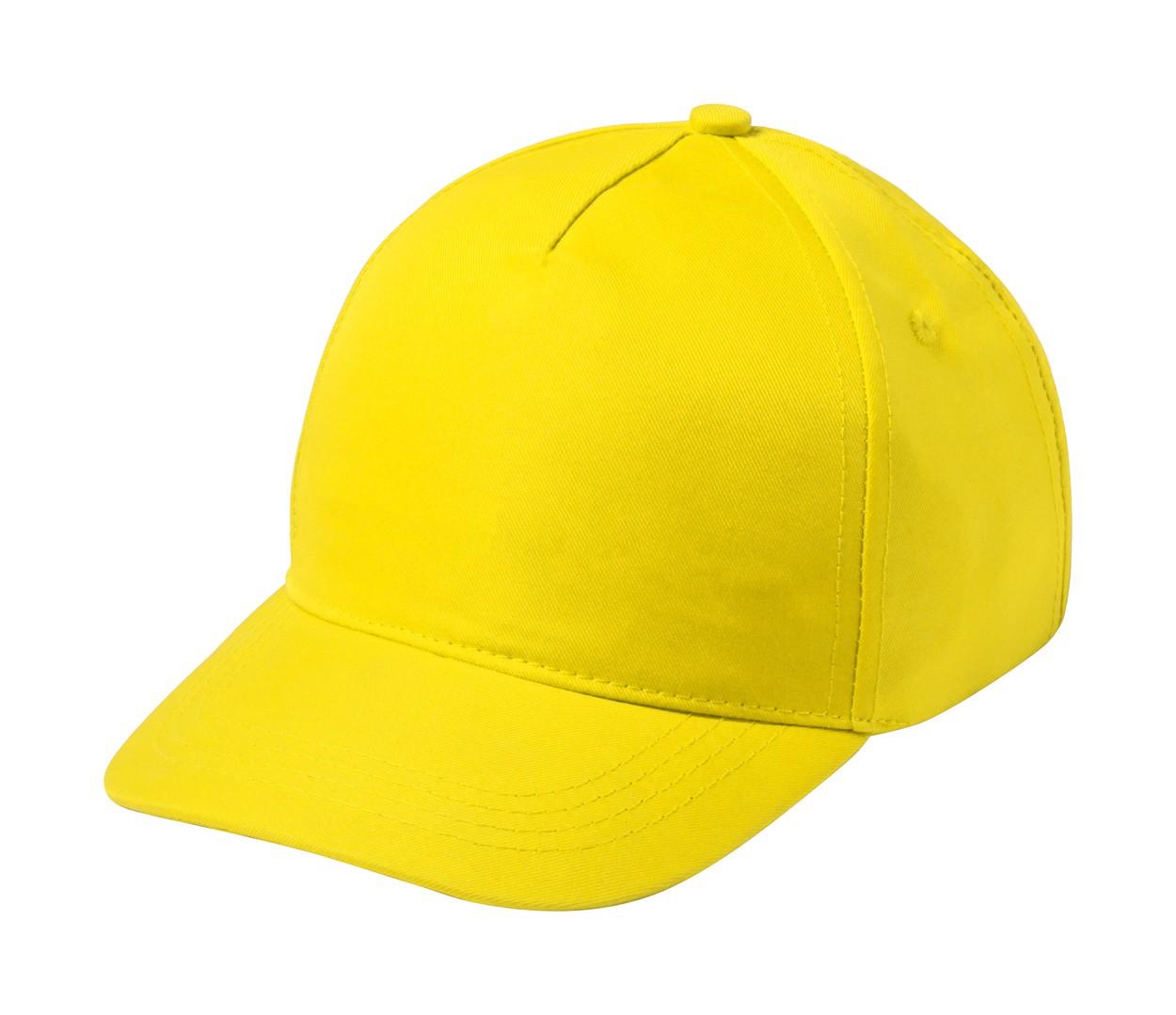 Baseballová Čepice Krox - Žlutá
