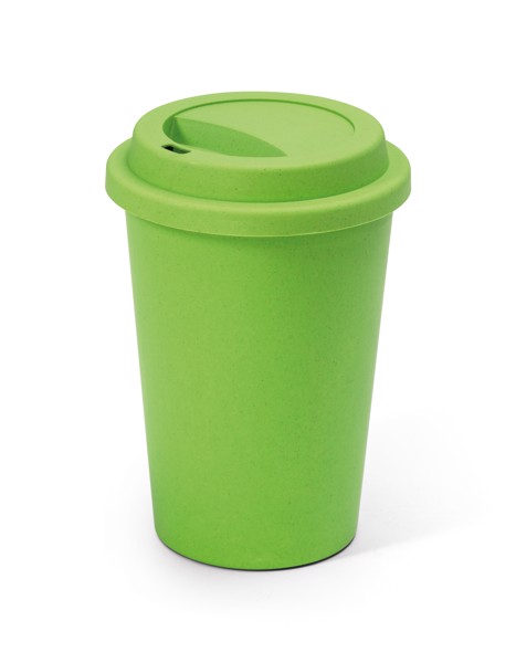 BACURI. Travel cup 450 ml - Light Green