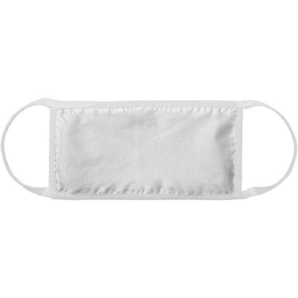 Reed face mask - White