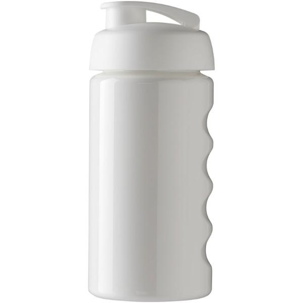 Sportovní láhev s vyklápěcím víčkem H2O Bop® 500 ml - Bílá