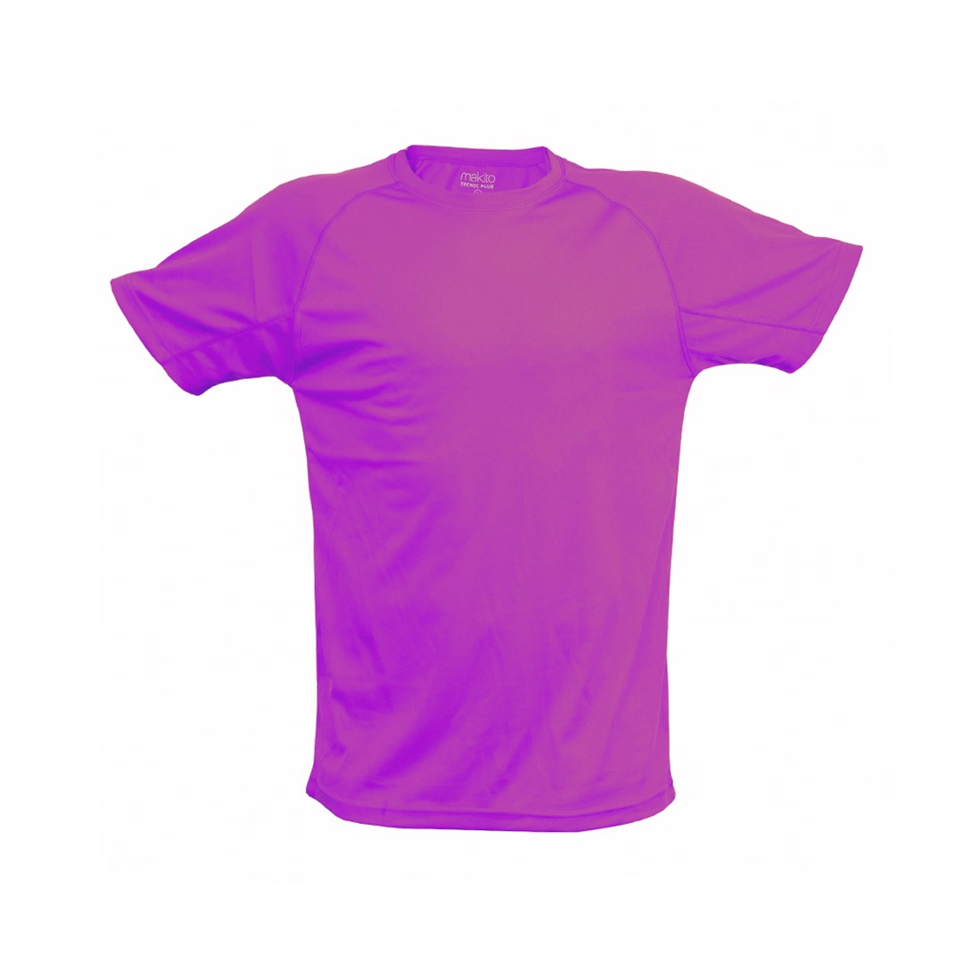 Camiseta Adulto Tecnic Plus - Fucsia / XXL