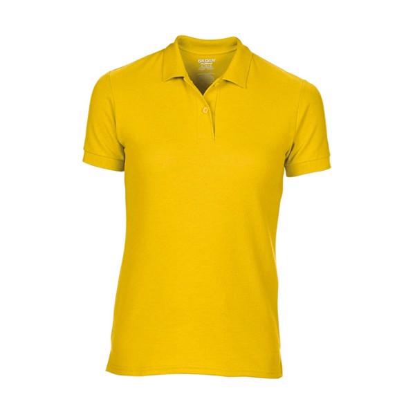Dámské Double Pique Polo Dryblend Ladies Pique 75800L - Daisy Yellow / XL