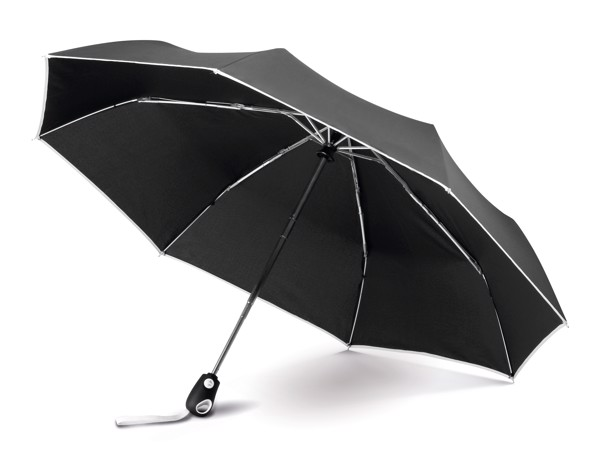 DRIZZLE. Umbrella with automatic opening and closing - White