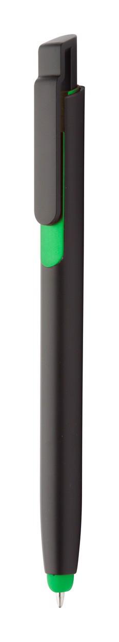 Kuličkové Pero Onyx - Zelená / Černá