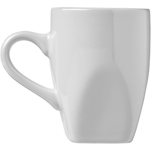 Cosmic 360 ml ceramic mug - White