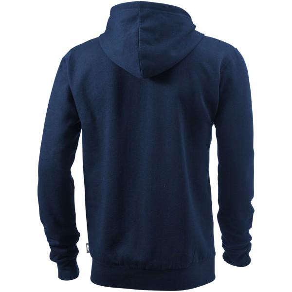 Mikina Open s kapucí, zip v celé délce - Navy / 3XL