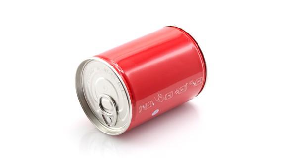 Lata Flowcan - Rojo