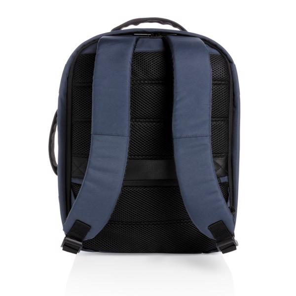 "Impact AWARE™ RPET anti-theft 15.6""laptop backpack - Navy"