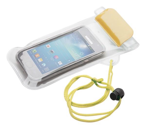 Voděodolný Obal Na Mobil Waterpro - Žlutá / Průhledná