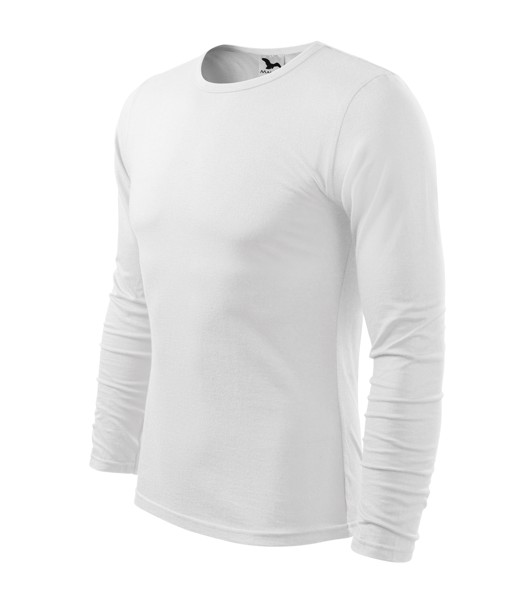 T-shirt Gents Malfini Fit-T LS - White / 2XL