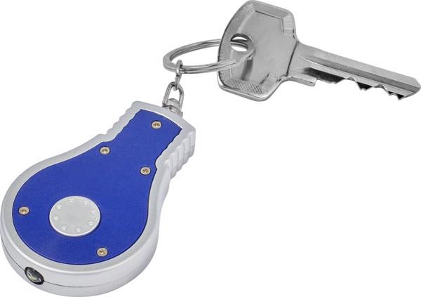 ABS 2-in-1 key holder - White