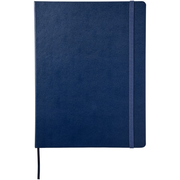 Classic XL hard cover notebook - dotted - Sapphire blue