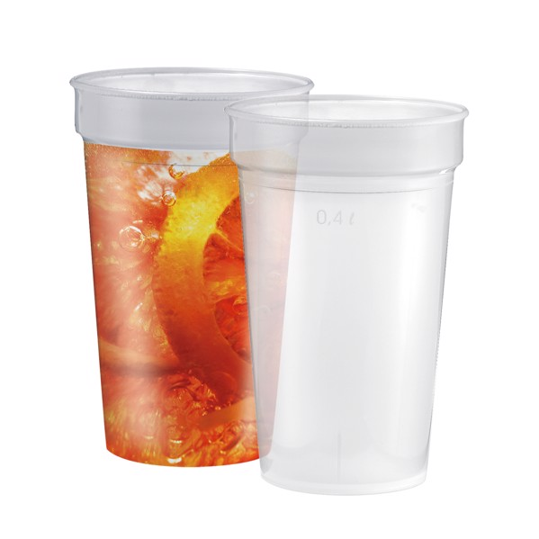 "Drinking Cup ""Deposit"" 0.4 L"