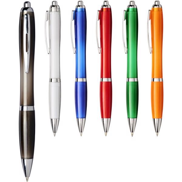 Długopis Nash z plastiku PET - Czerwony