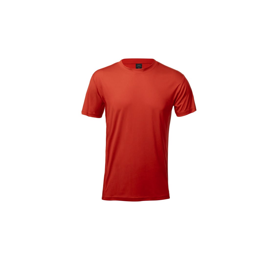 T-Shirt Adulto Tecnic Layom - Vermelho / XL
