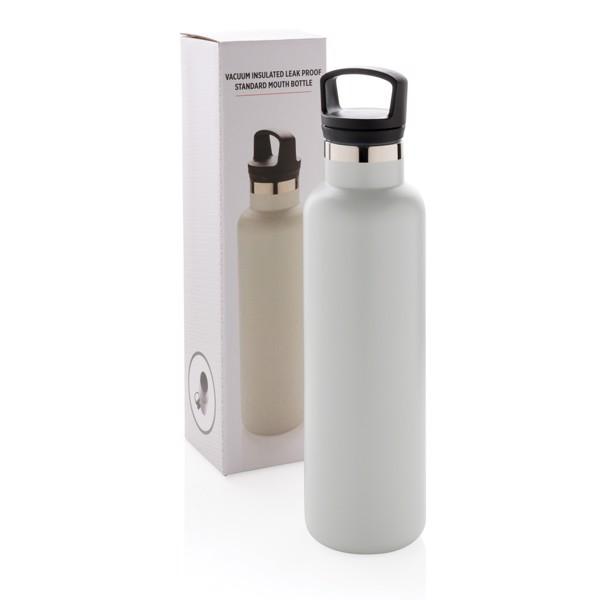 Nepropustná termo láhev se standardním hrdlem - Off White