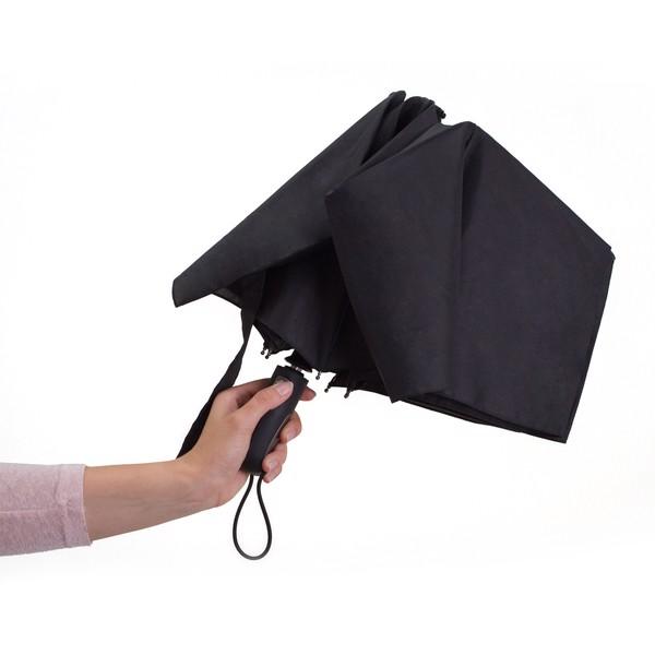 Składany parasol sztormowy VERNIER - Czarny