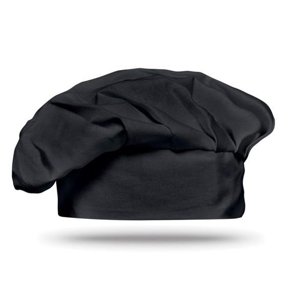 Bavlněná čepice Chef - black