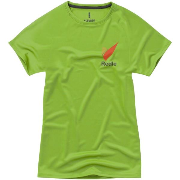 Dámské Tričko Niagara s krátkým rukávem, cool fit - Zelené jablko / XXL