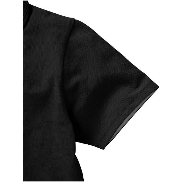 Hacker Poloshirt für Damen - Schwarz / Grau / XXL