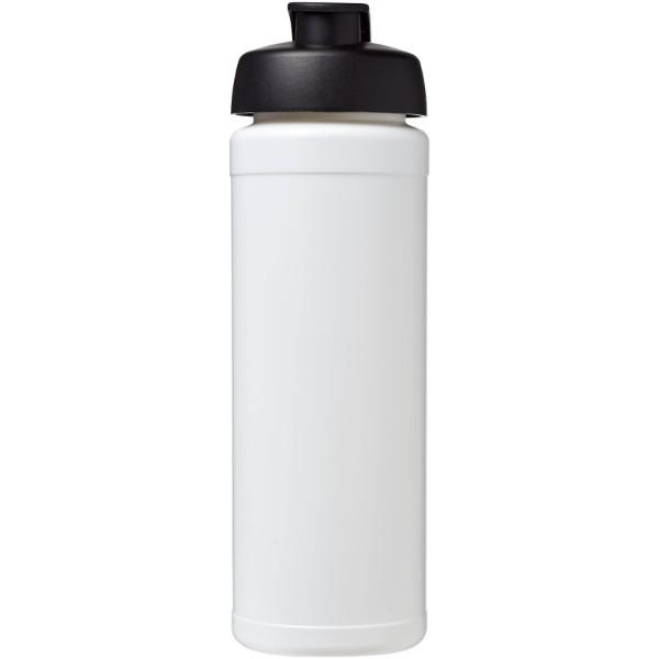 Sportovní láhev s vyklápěcím víčkem Baseline® Plus grip 750 ml - Bílá / Černá