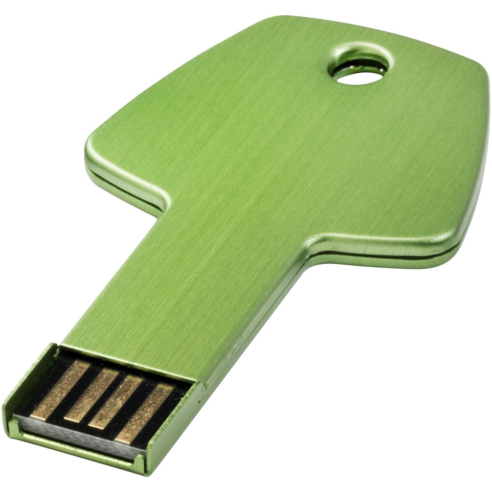 USB disk Key, 4 GB - Zelená