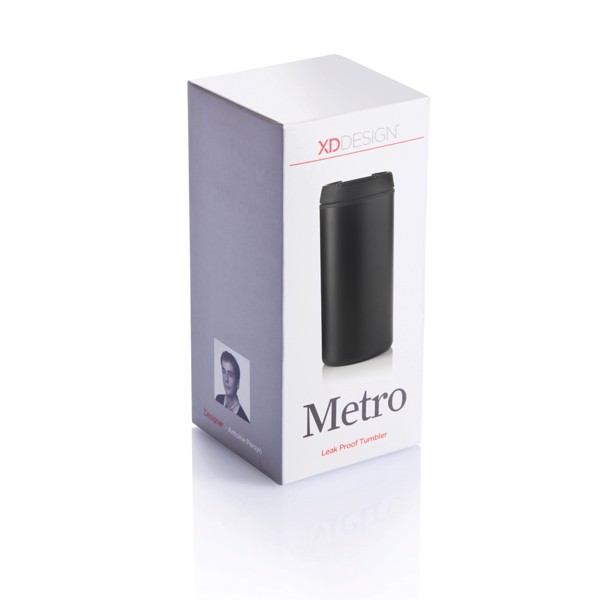 Termohrnek Metro - Černá