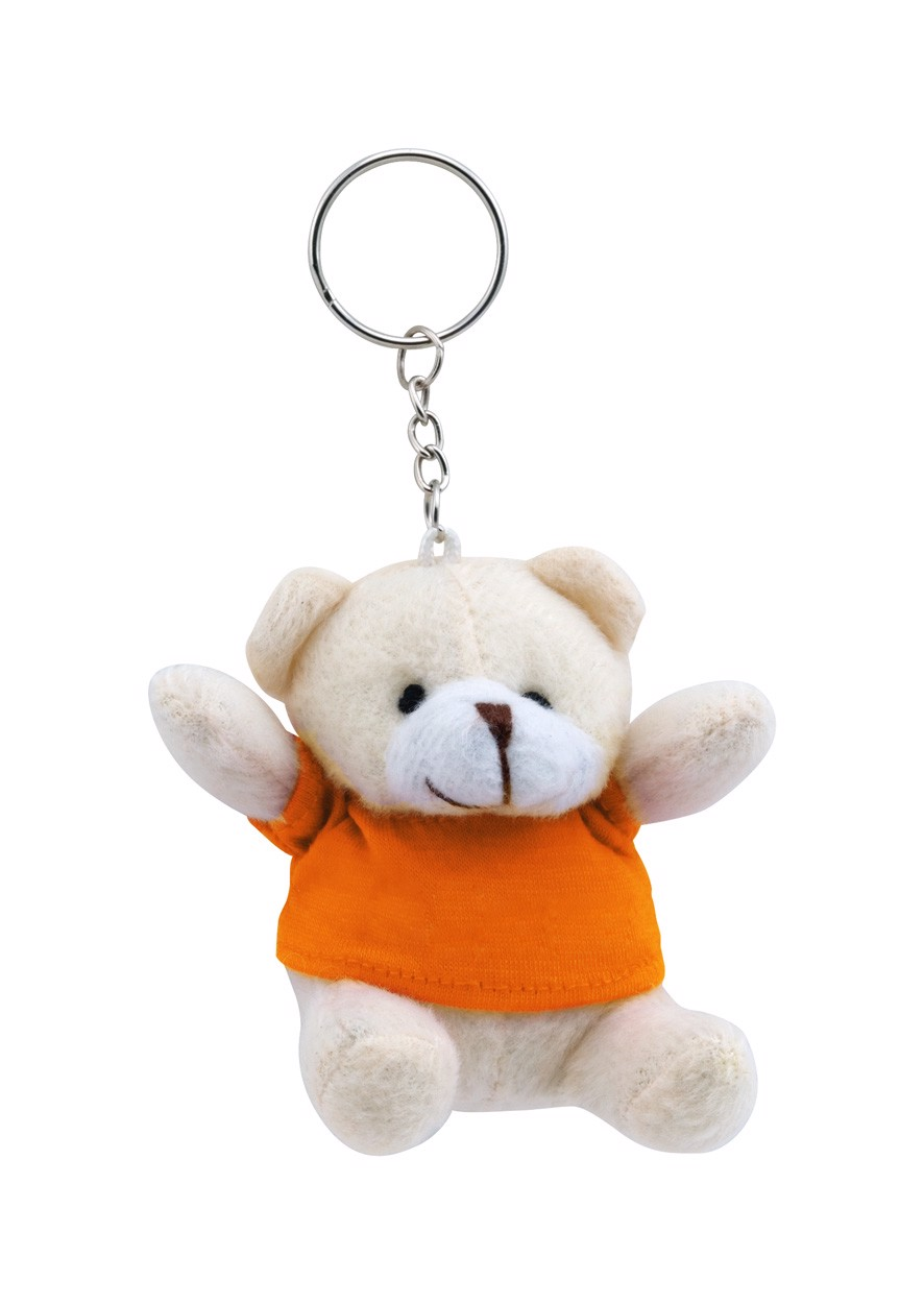 Breloc Teddy - Portocaliu