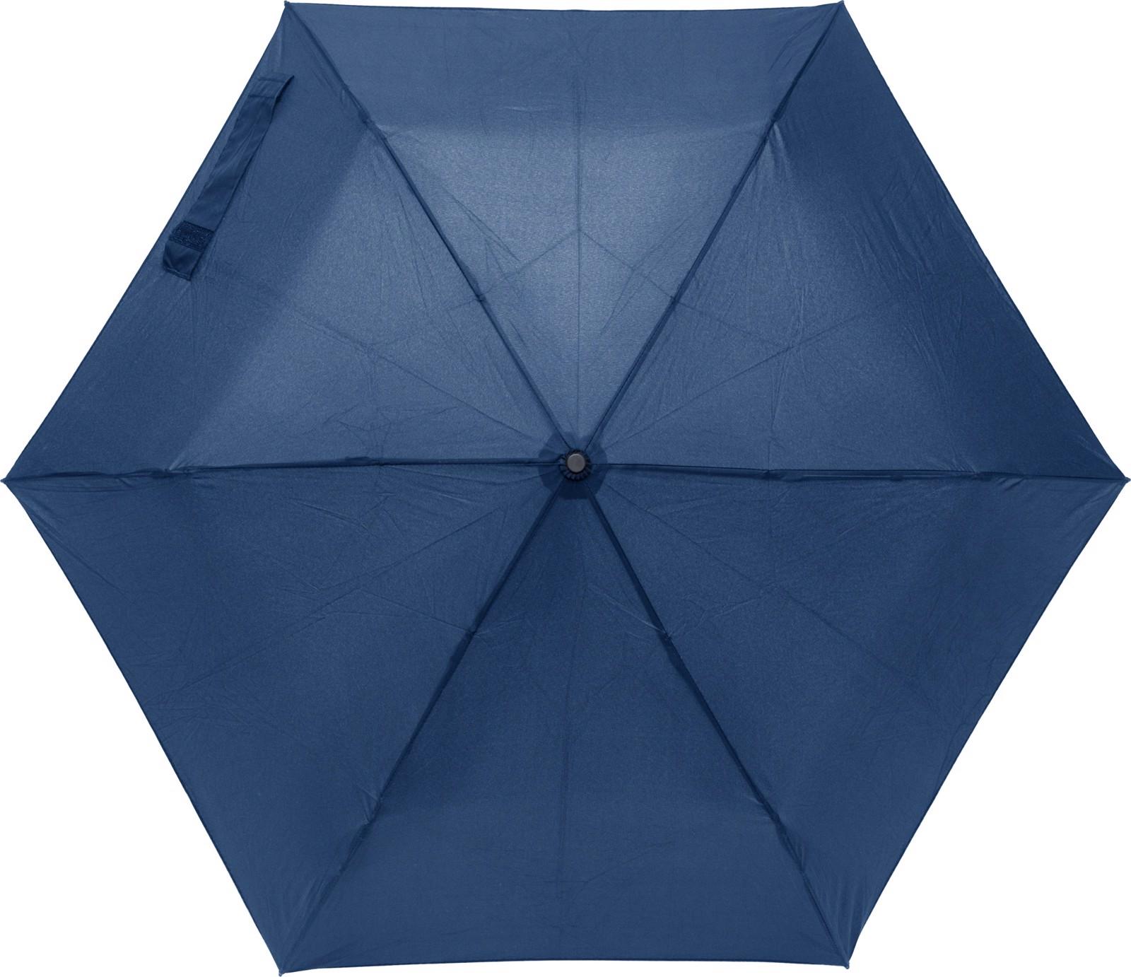 Pongee umbrella - Blue