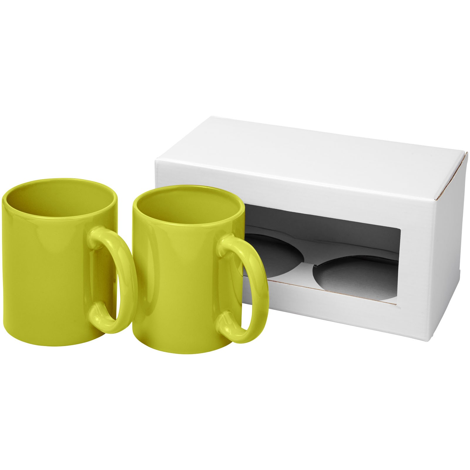 Dárková sada dvou hrnků Ceramic - Limetka