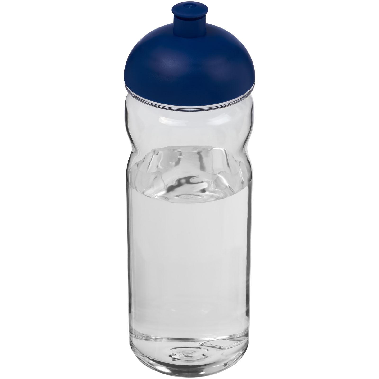 Base Tritan™ 650 ml Sportflasche mit Stülpdeckel - Transparent / Blau