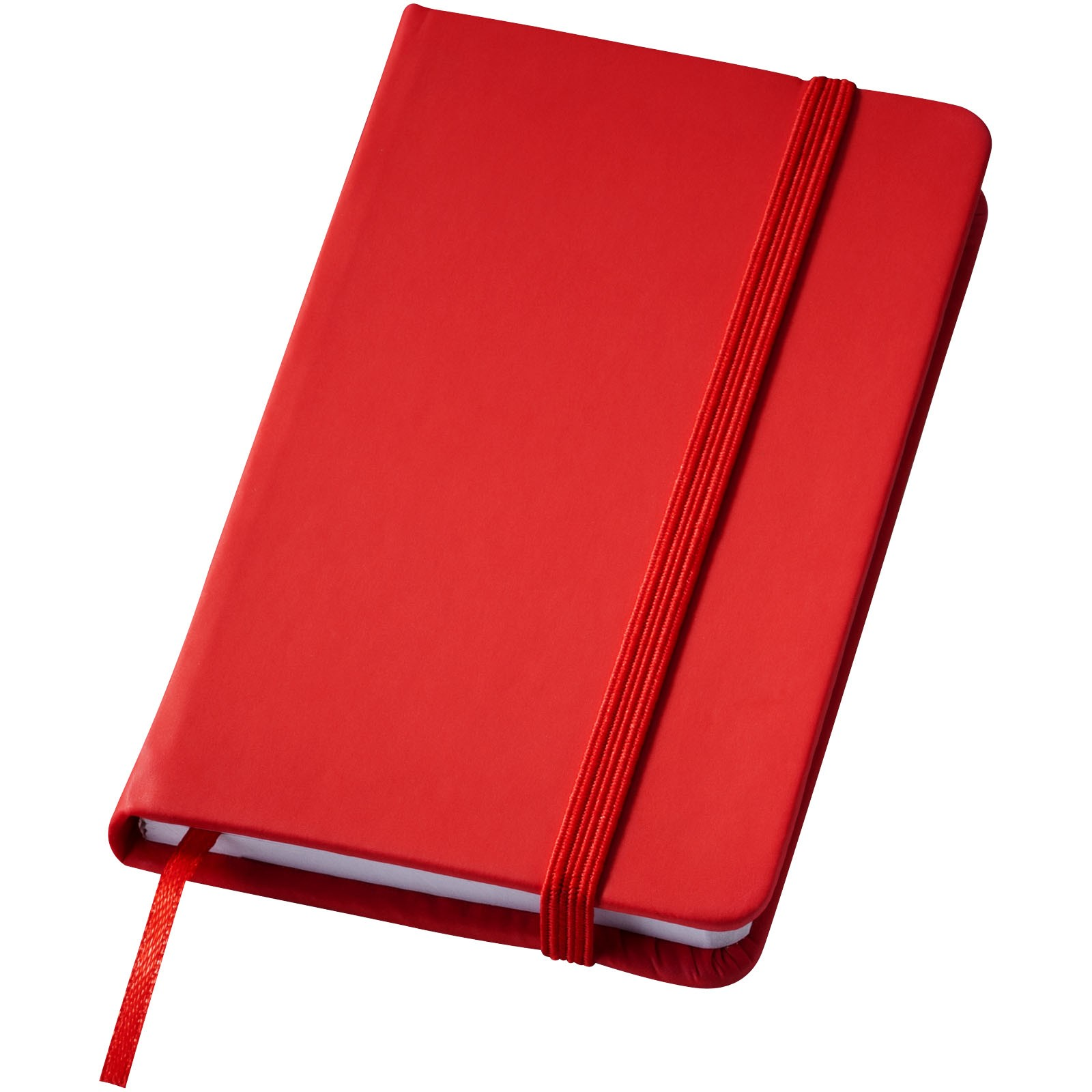 Rainbow A7 kleines Hard Cover Notizbuch - Rot