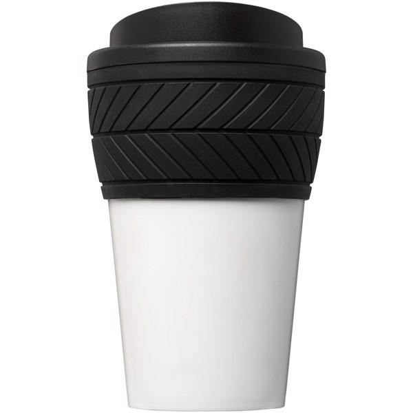 Termo hrnek Brite-Americano® pneumatika 350 ml - Černá