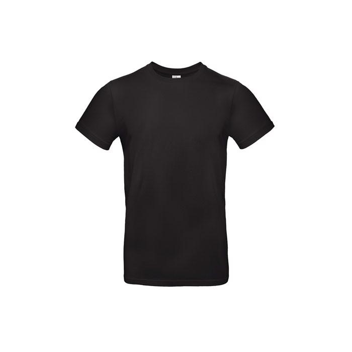 T-shirt male 185 g/m² #E190 T-Shirt - Black / XS