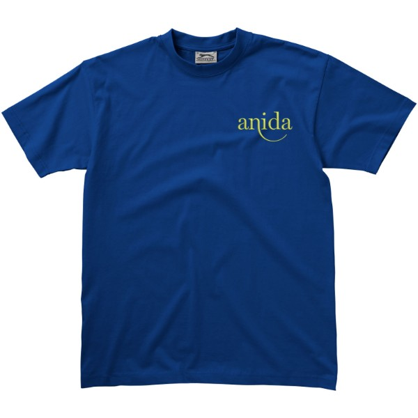 Return Ace short sleeve unisex t-shirt - Classic royal blue / M